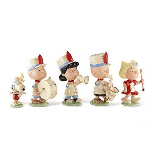 - Lenox Classics Peanuts Marching Band Set