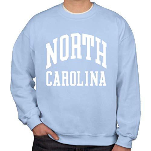 Unc Womens Basketball - Shrunken Head North Carolina Classic Collection Adult Crewneck Sweatshirt