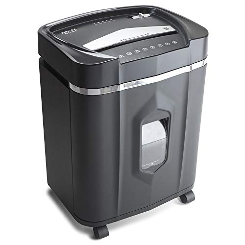 Aurora AU1410MA Professional Grade High Security 14-Sheet Micro-Cut Paper/CD and Credit Card/ 30 Minutes Continuous Run Time Shredder by Aurora (Image #2)