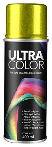 Ultracolor 19A1438223 Pintura en Aerosol, color Amarillo Neón