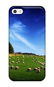 Special AmandaMichaelFazio Skin Case Cover For Iphone 5/5s, Popular Sheep Land Phone Case