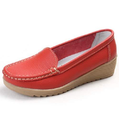Rouge ZHRUI Chaussures EU Orange Taille coloré 40 SPZSYw