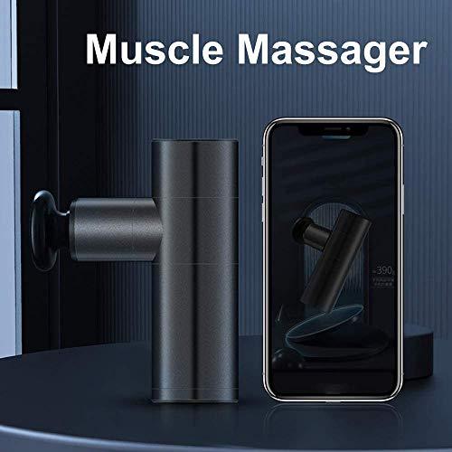 Massage Gun Light Weight Deep Tissue Massage Gun 4 Speeds Handheld Muscle Massager Personal Ultra Quiet Massager Muscle Relief Massage Device with 4 Heads for Fitness Recovery
