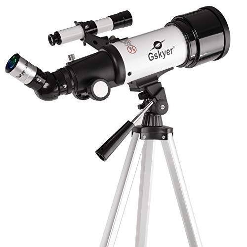 Gskyer Telescope, AZ70400 German Technology Astronomy Telescope, Travel Refractor (Renewed)