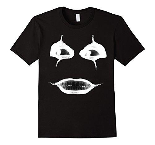 Mens Creepy Face Mask Shirt Creepiest Halloween Costumes Design 3XL (Uncle Creepy Mask)