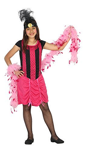 Atosa 20806–Cabaret Girl Costume, Size 116, used for sale  Delivered anywhere in USA