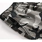 LAUSONS Short Garcon Camouflage - Bermuda Enfant Garçon été - Pantalon Court Militaire Slim Chino Shorts 11