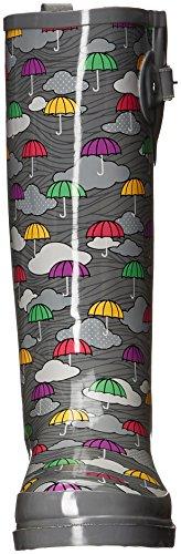 Western Chief Frauen wasserdicht bedruckt hohen Regenstiefel Regenschirm-Wolken