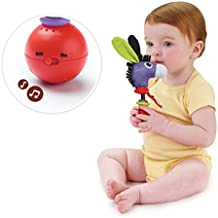 Musical Activity Rattle- Motion Activated Donkey Rattle with Music- Activity Toy for Babies 0 months and Older