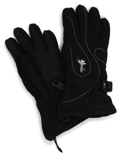 Gordini Women's Fall Line II Glove, Black/White Stitching, Small