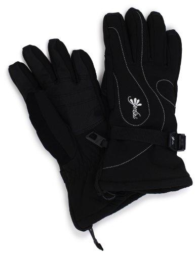 Gordini Women's Fall Line II Glove, Black/White Stitching, Small