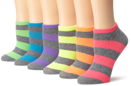 Women's Stripe Socks (Pack of Six Pairs)