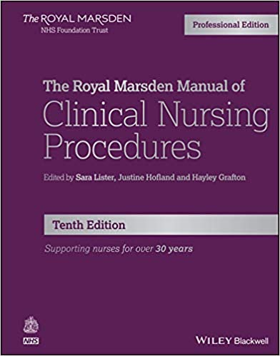 The Royal Marsden Manual of Clinical Nursing Procedures (Royal Marsden Manual Series), 10th Edition - Original PDF
