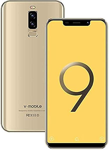Moviles Libres Baratos 4G VMOBILE S9+(2019) 5.84