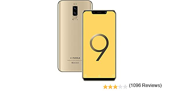 Moviles Libres Baratos 4G VMOBILE S9+(2019) 5.84