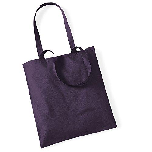 """Westford Mill- Promoción bolsa básica """"Bolsa para la vida""""- capacidad 10 litros Ciruela"""