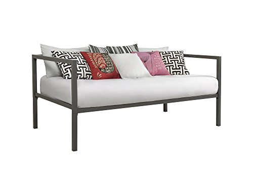 (DHP 4050147 Modern Tribeca Sofa Bed, Twin Gray)