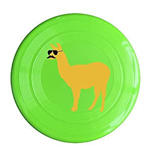 Flying Sport Disc Llama With Sunglasses And Mustache 150g Ultimate Frisbees One Size