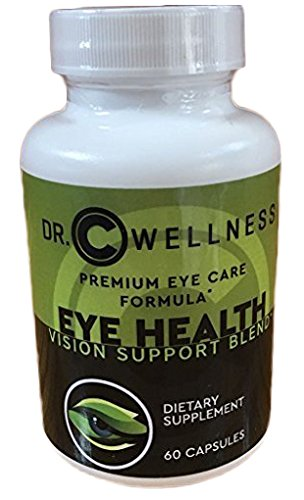 Eye Health Supplement with Lutein and Zeaxanthin, Multivitamins, Minerals and Antioxidants, 60 Capsules