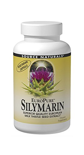 Source Naturals EuroPure Silymarin, Superior Quality European Milk Thistle Seed Extract