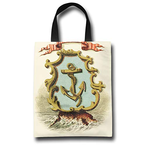 (Lqzdqa Rhode Island State Coat of Arms Fashion Reusable Shopping Bags Eco Friendly Durable Reticule)