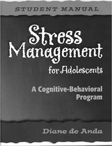 Student Manual Stress Management for Adolescents Set of 5