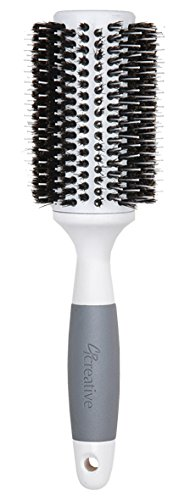 X-large Ceramic Brush (Creative Hair Brushes Solid Barrel Ceramic Mixed Bristles, X-Large, 7 Ounce)