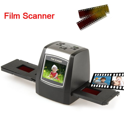 35mm High Resolution Film Scanner with 2.3 Inch LCD Screen and SD Card Slot by ePathDirect