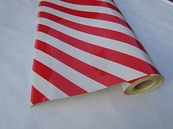 Reflexfolie Plotterfolie Reflektierende Folie Großformat Weiß Rot Breite 122 Cm Länge 1 Meter Baumarkt