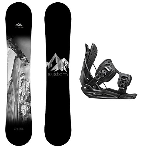(System Package Timeless Snowboard 163 cm Wide-Alpha MTN XL)