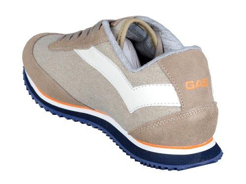 Gas , Chaussures de ville à lacets pour homme Beige Beige 42