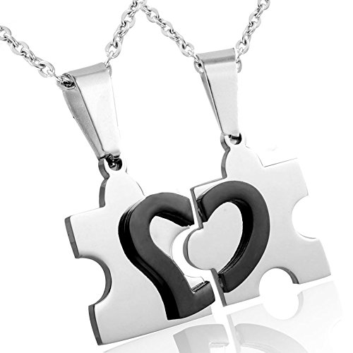 Jstyle Jewelry Stainless Friendship Necklace