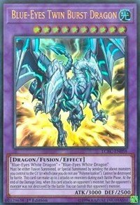 yu-gi-oh Blue-Eyes Twin Burst Dragon - LCKC-EN058 - Ultra Rare - 1st Edition - Legendary Collection Kaiba Mega Pack (1st Edition) (Yugioh Blue Eyes White Dragon Deck Build)