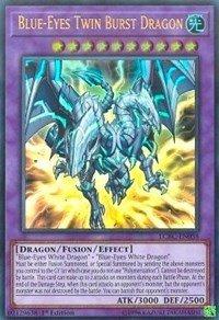Blue-Eyes Twin Burst Dragon - LCKC-EN058 - Ultra Rare - 1st Edition - Legendary Collection Kaiba Mega Pack (1st Edition)