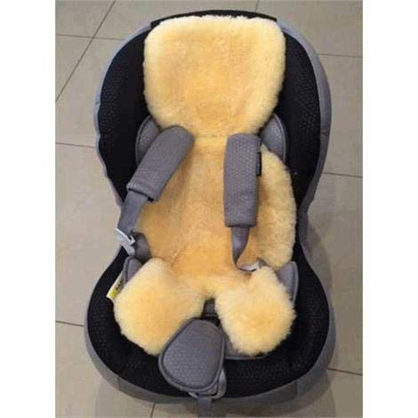 Genuine Irish Lambskin Liner For Car Seats or Buggies by CONNACHT HIDE & WOOL (Image #4)