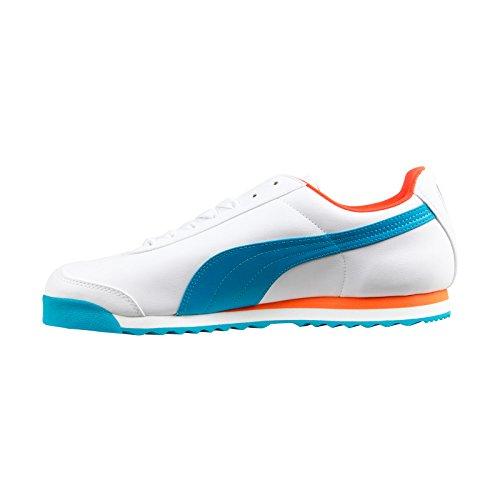 Sneakers Puma Mens Basic Sneakers Bianche / Capri / Nasturzio