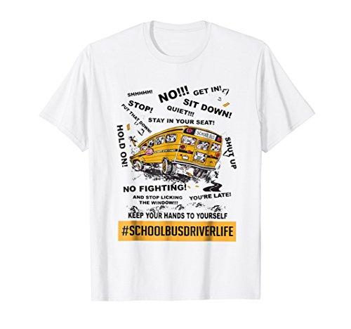 Funny school Bus driver life, #schoolbusdriverlife tshirt