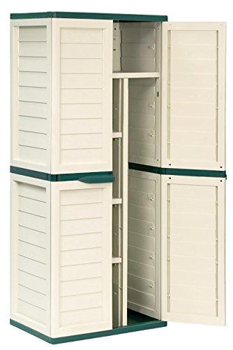 Captivating 6ft Waterproof U0026 Lockable Garden Storage Cabinet / Shed
