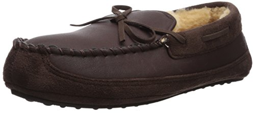 Image of Dockers Men's Ryan Aviator Moccasin with Warm Plush-Sherpa Style Collar