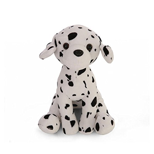 Plushland Realistic Stuffed Animal Toys Puppy Dog 8 Inches, Holiday Plush Figures for Kids, Babies to Play with -