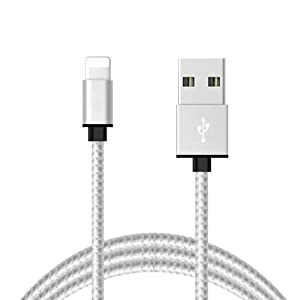 iPhone Charger,Onpro Lightning Cable 3Feet Nylon Braided USB Charging Cable High Speed Data Sync Transfer Cord Compatible with iPhone 12 11 Pro Max XS XR X 8 7 Plus 6S SE iPad