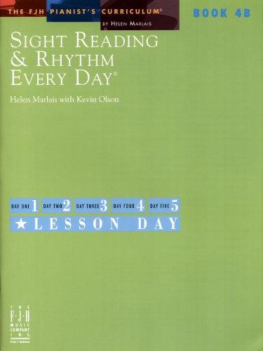 Sight Reading & Rhythm Every Day, Book 4B