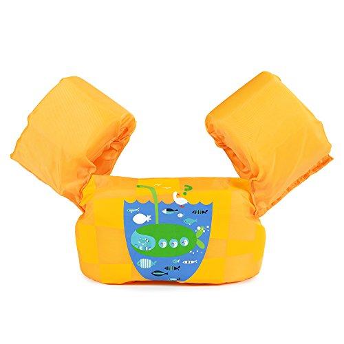 Siran Baby Swim Float Toddler Life Jacket Kids Swim Life Vest Kids Swimming Floats Vest for Kids