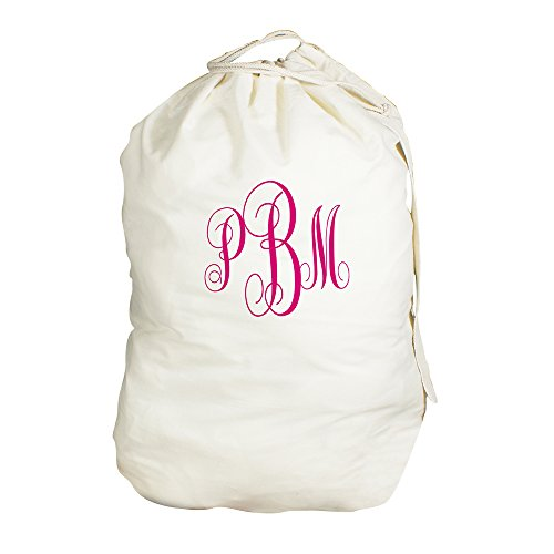 Laundry Personalized (GiftsForYouNow Script Monogrammed Laundry Bag, 19