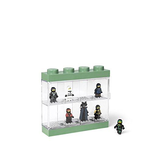 Price comparison product image LEGO Minifigure Display Case 8 8, Small, Ninjago Movie