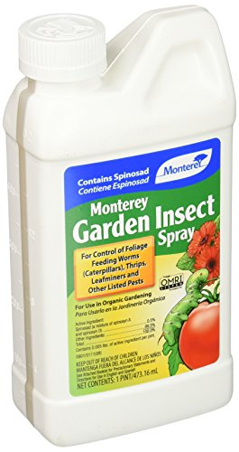 - Monterey LG6150 Garden Insect Spray with Spinosad Concentrate 16oz