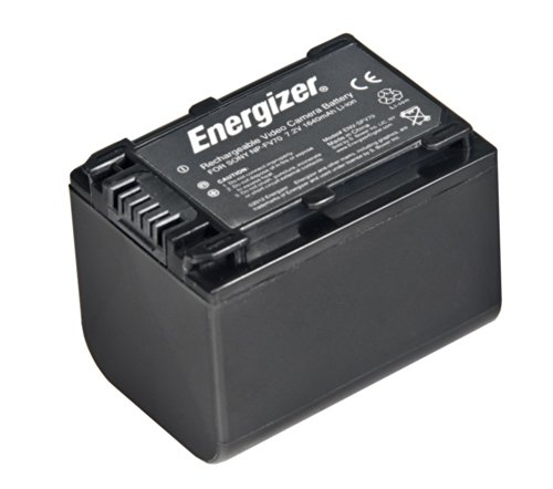 Energizer ENV-SFV70 Digital Replacement Video Battery for Sony NP-FV70 (Black) by Energizer
