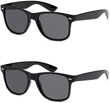 2 Pair Retro Korean Fashion Style Women Men Outdoor Sport Sexy Wayfarer Sunglasses