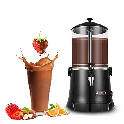 YUCHENGTECH 10L Commercial Hot Chocolate Maker Machine ChocolateDispenserWarmer Hot Beverage Warmer for heating Chocolate Coffee Milktea CE Certification (110V, 10L)