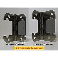 NYCE NCZ-3010-2-C4 Door Hinge Sensor - 4, Satin Nickel Finish